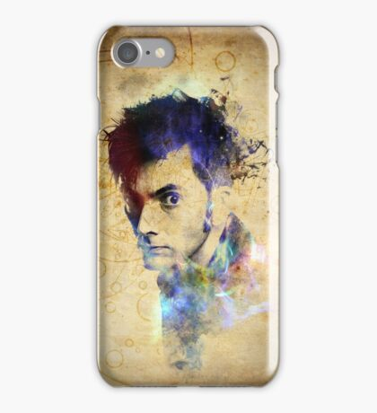 David Tennant - Doctor Who #10 iPhone Case/Skin