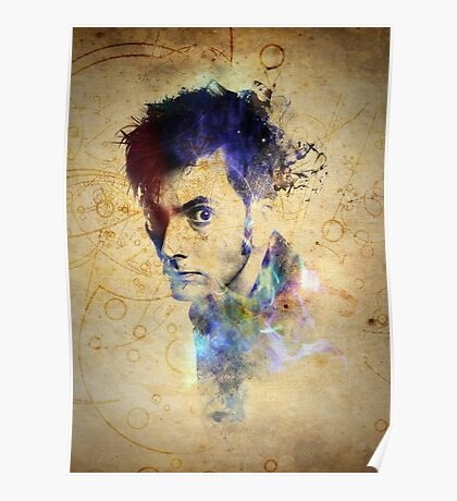 David Tennant - Doctor Who #10 Poster