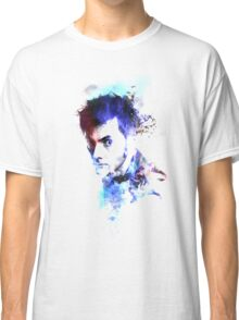 David Tennant - Doctor Who #10 Classic T-Shirt
