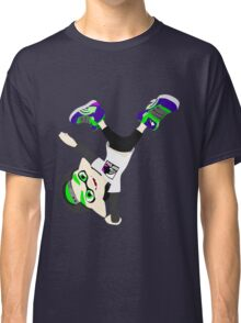 Splatoon - Inkling boy Green Classic T-Shirt