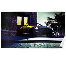 Mercedes Benz CLK AMG (Forza Horizon 2) Poster