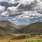 The Lindis Pass  ( 2 ) by Larry Lingard-Davis