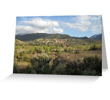 Moroccan Landscape Greeting Card