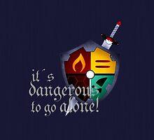 It´s dangerous to go alone by ASCasanova
