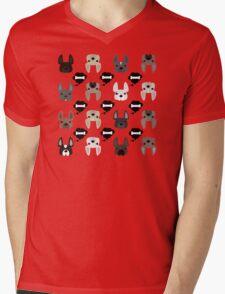 Different French Bulldogs!  Mens V-Neck T-Shirt