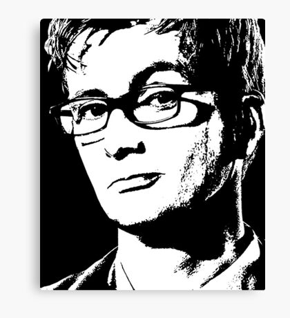 David Tennant: 10th Doctor Canvas Print