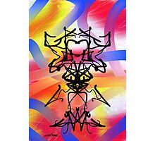 Abstract Gremlin Design Photographic Print