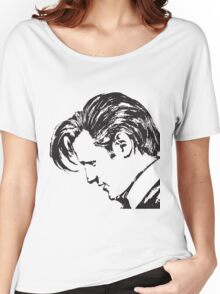 Matt Smith as The Doctor Women's Relaxed Fit T-Shirt