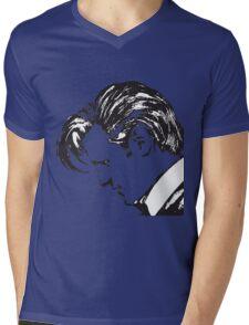 Matt Smith as The Doctor Mens V-Neck T-Shirt