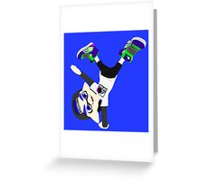 Splatoon - Inkling boy Blue Greeting Card