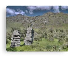 Petrified Trolls at Treble Cone Canvas Print