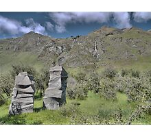 Petrified Trolls at Treble Cone Photographic Print