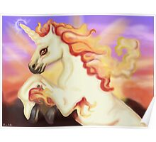 Fire Horse Poster