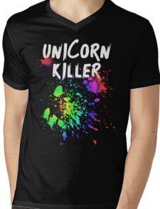 Unicorn Killer T Shirt Mens V-Neck T-Shirt