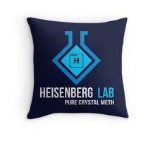 Heisenberg Lab Throw Pillow