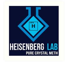 Heisenberg Lab Art Print