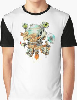 Codsworth - Two Centuries Late for Dinner Graphic T-Shirt