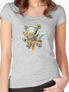 Codsworth - Two Centuries Late for Dinner Women's Fitted Scoop T-Shirt