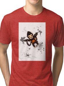 Borderlands 2 - Chibi Gunzy! Tri-blend T-Shirt