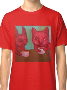 Cat Cafe Classic T-Shirt