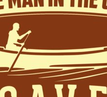 Little Man In The Canoe Cave Tours Sticker