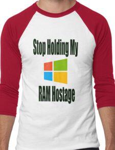 Hostage Men's Baseball ¾ T-Shirt