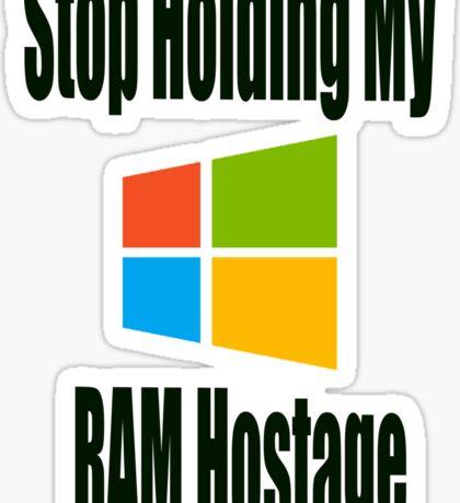 Hostage Sticker