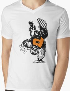 puck alpha flight Mens V-Neck T-Shirt