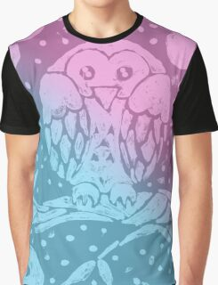 Cute Baby Owl Graphic T-Shirt