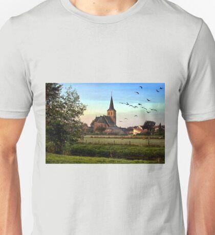 Kingdom of God Church Sunrise Landscape Unisex T-Shirt
