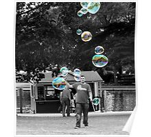 Selected Bubbles Poster
