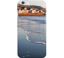 At The Seafront - Lyme Regis iPhone Case/Skin