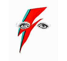 Bowie Photographic Print