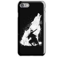 The walker of abyss iPhone Case/Skin