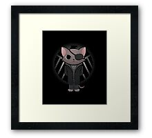 Cat Fury Framed Print