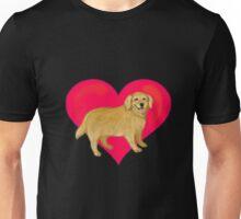 I Love Golden Retrievers Unisex T-Shirt