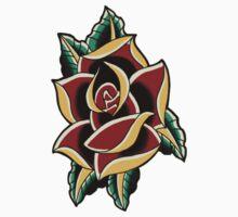 Traditional Rose Flash 3 Kids Tee