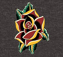 Traditional Rose Flash 3 Unisex T-Shirt