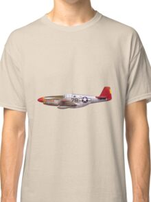 Vintage P-51 Mustang Tuskegee Airmen World War II Classic T-Shirt