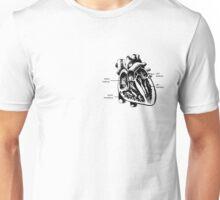 j'ai un coeur Unisex T-Shirt