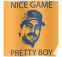 Nice Game Pretty Boy Keith Hernandez Poster