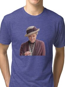 Lady Violet is my queen Tri-blend T-Shirt
