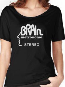 Brain Metronome Krautrock Stereo Women's Relaxed Fit T-Shirt