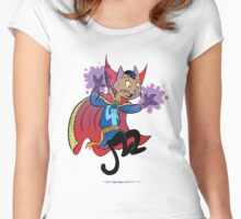 Doctor Strange Cat Women's Fitted Scoop T-Shirt