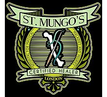 St. Mungo's Certified Healer Photographic Print