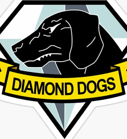 Metal Gear Solid - Diamond Dogs Emblem Sticker