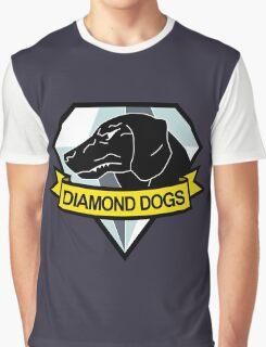 Metal Gear Solid - Diamond Dogs Emblem Graphic T-Shirt