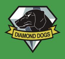 Metal Gear Solid - Diamond Dogs Emblem One Piece - Short Sleeve