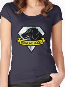 Metal Gear Solid - Diamond Dogs Emblem Women's Fitted Scoop T-Shirt