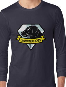 Metal Gear Solid - Diamond Dogs Emblem Long Sleeve T-Shirt